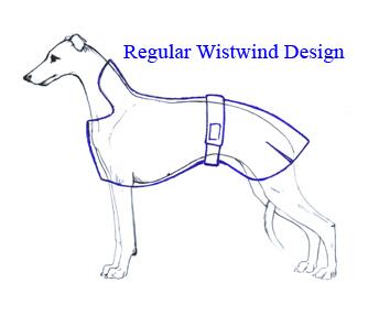 Whippet Dog Coat Knitting Pattern : Wistwind Warm-Up Dog Coats